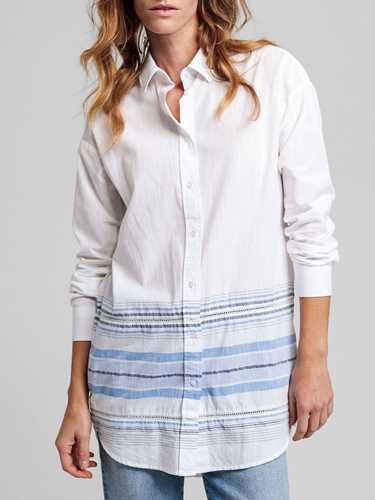 Immagine di GANT | Camicia Lunga Donna a Righe