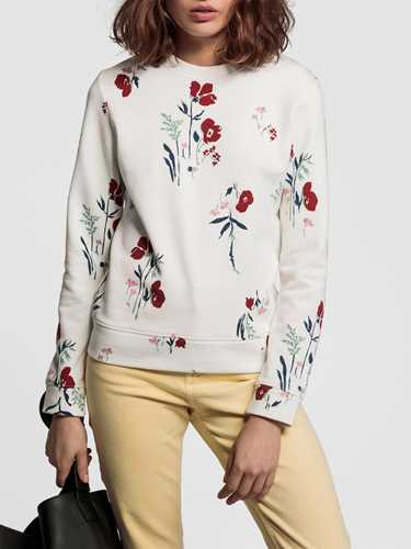 Picture of GANT | Women's Meadow Print Sweatshirt