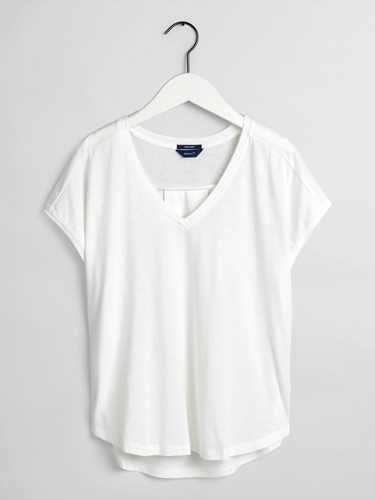 Picture of GANT | Women's Pure Prep V-Neck Shirt