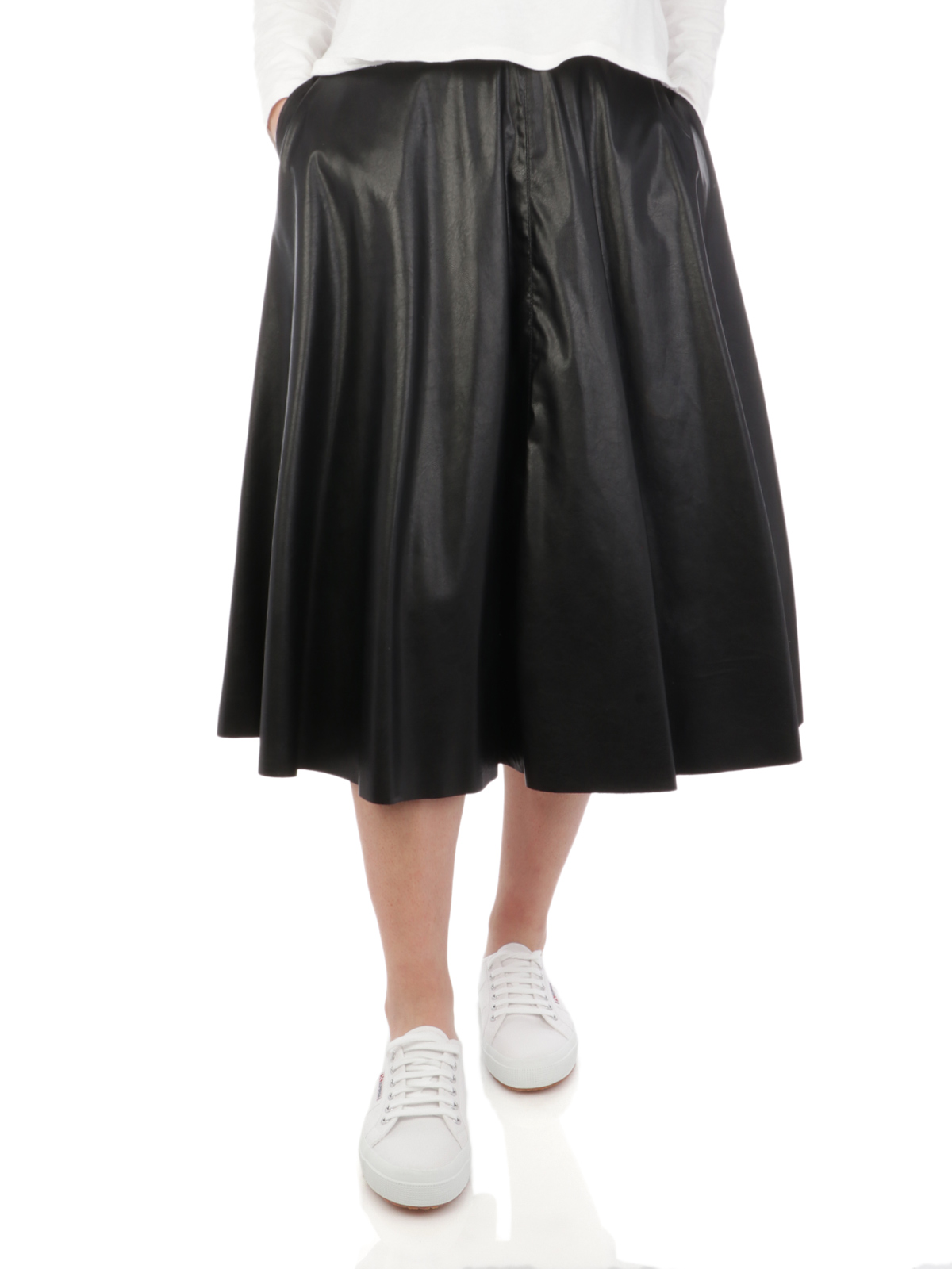 Picture of KAOS | Women's Faux Leather Skirt