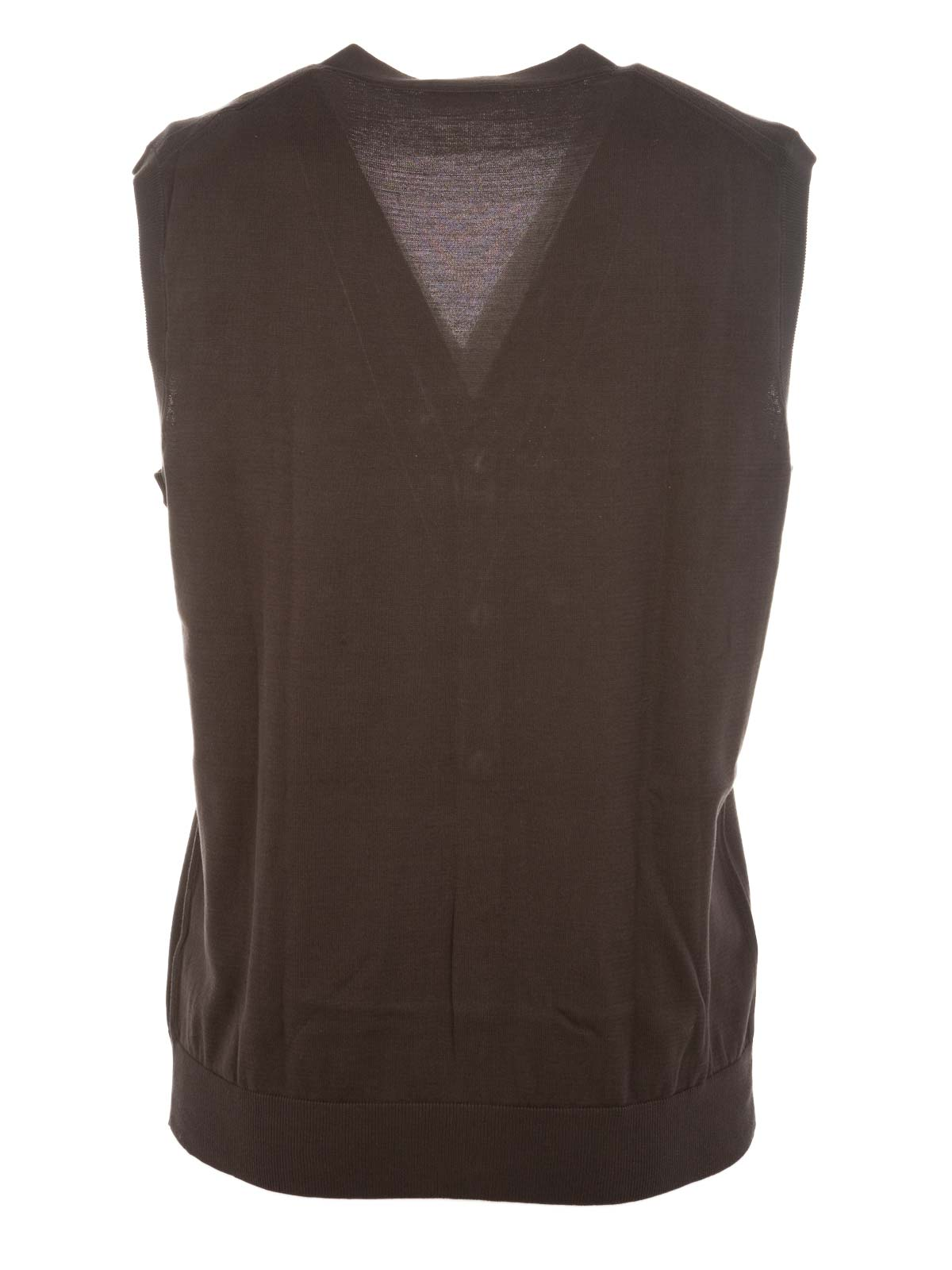 Picture of ALTEA | Cotton Vest With Buttons