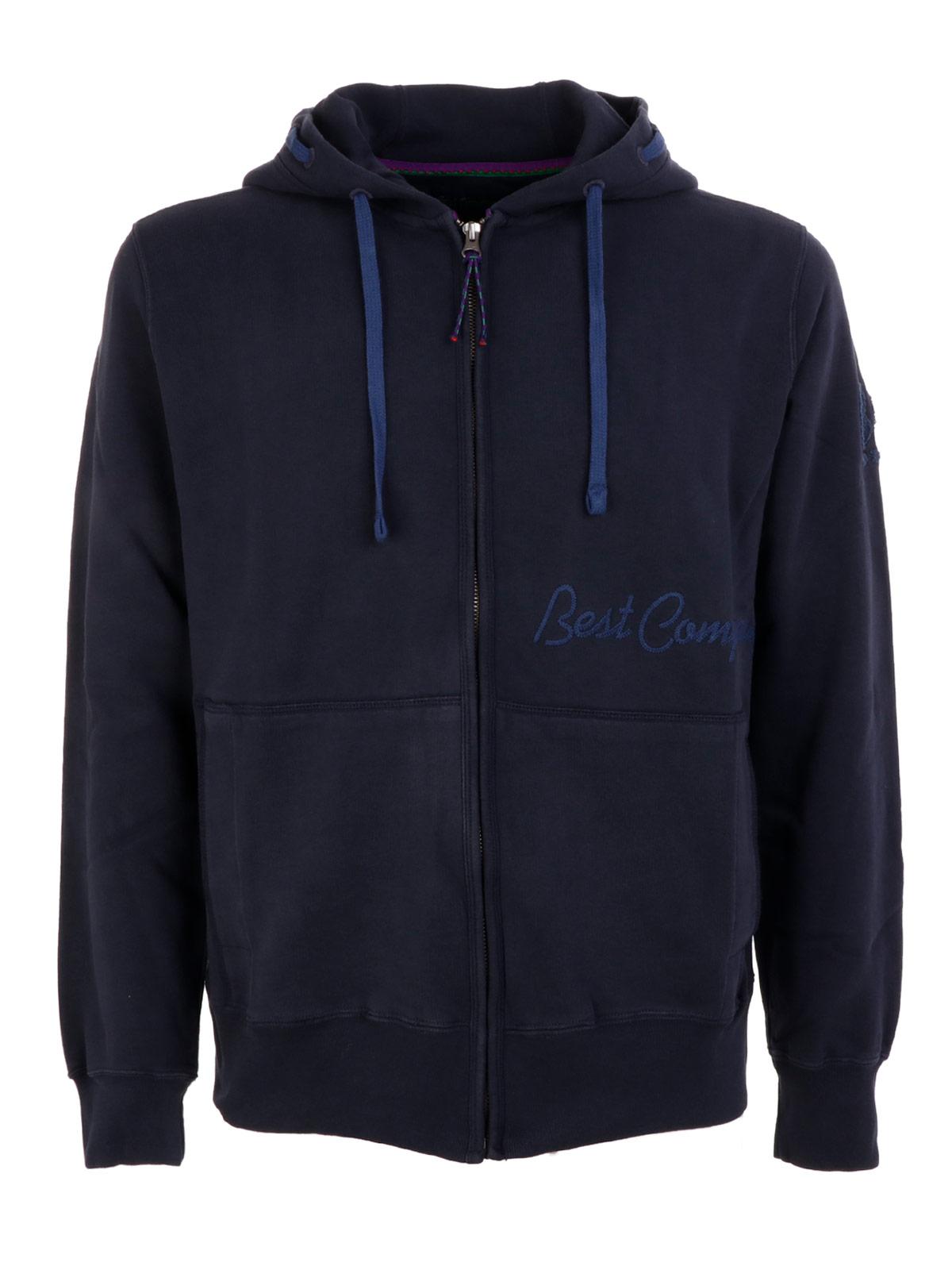 Picture of BEST COMPANY | Men's Full Zip Hoodie Sweatshirt