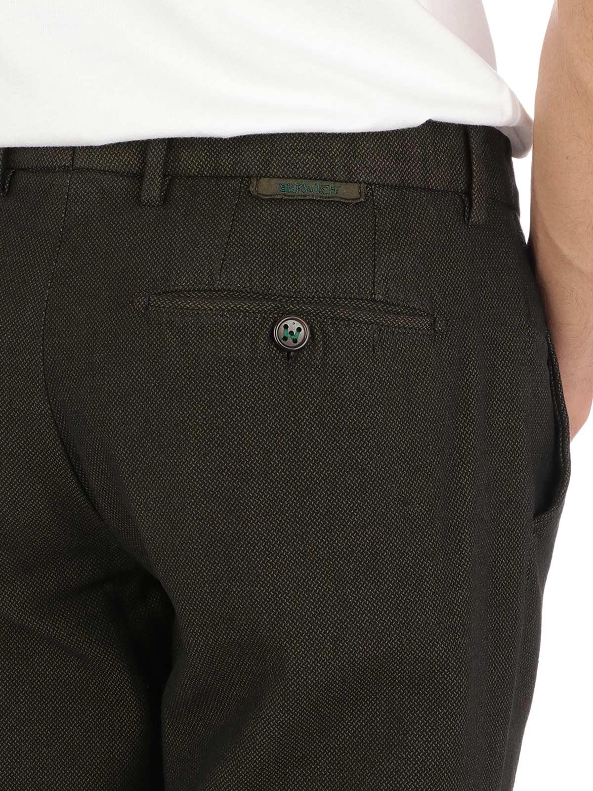 Picture of Berwich | Trousers Pantalone Morello