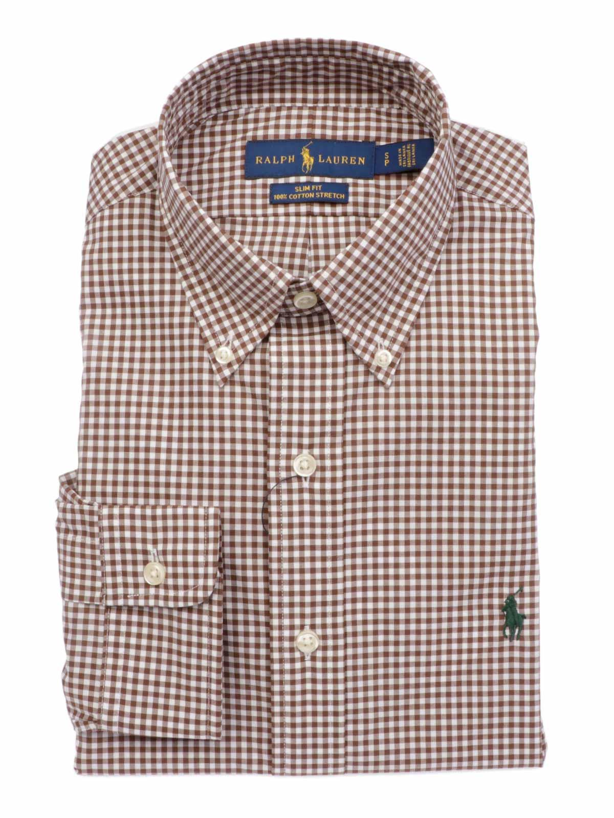comprare on line ab06e 68370 POLO RALPH LAUREN Camicia Uomo Slim Fit a Quadretti
