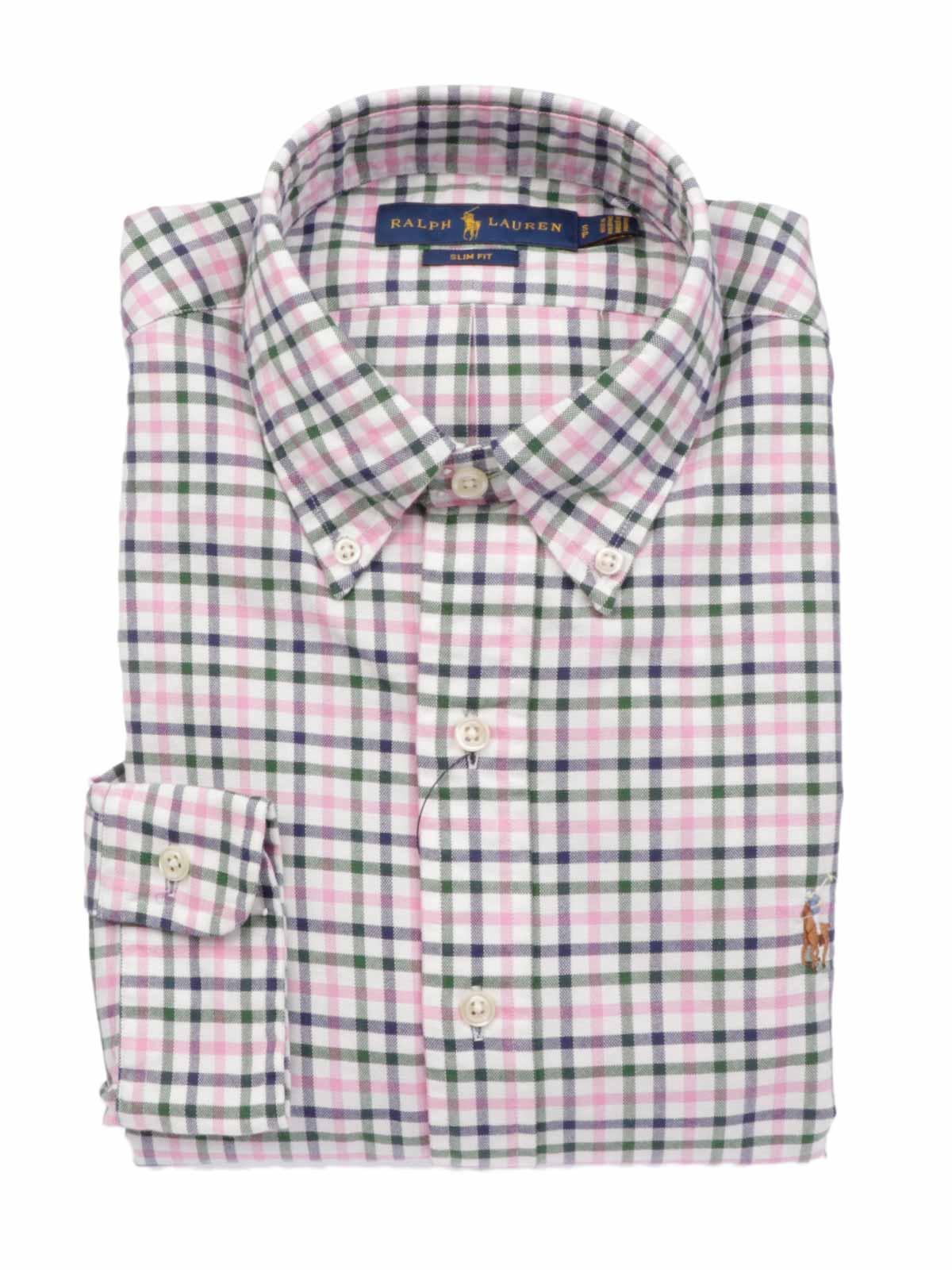 comprare on line 9d69d c8ead POLO RALPH LAUREN Camicia Uomo Slim Fit a Quadretti