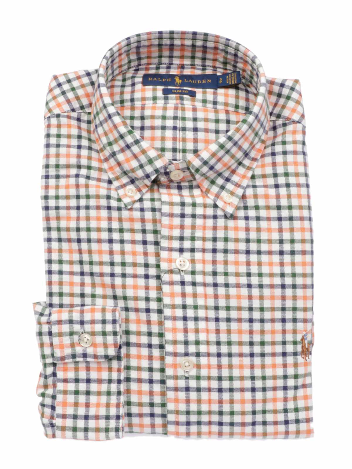 Picture of POLO RALPH LAUREN   Men's Checked Slim Fit Shirt