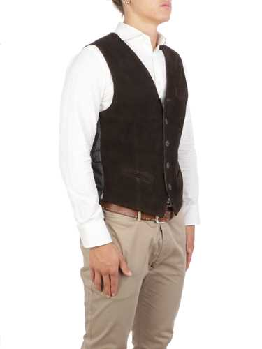 Picture of THE JACK LEATHERS | Men's Lollo Suede Waistcoat