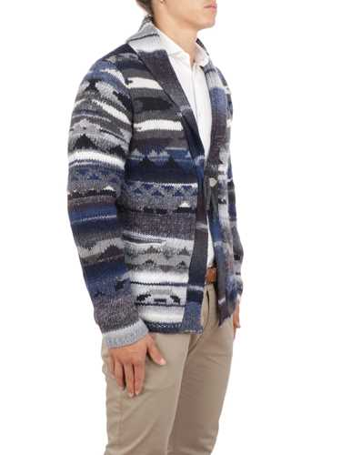 Picture of ALTEA | Men's Shawl Collar Wool Cardigan