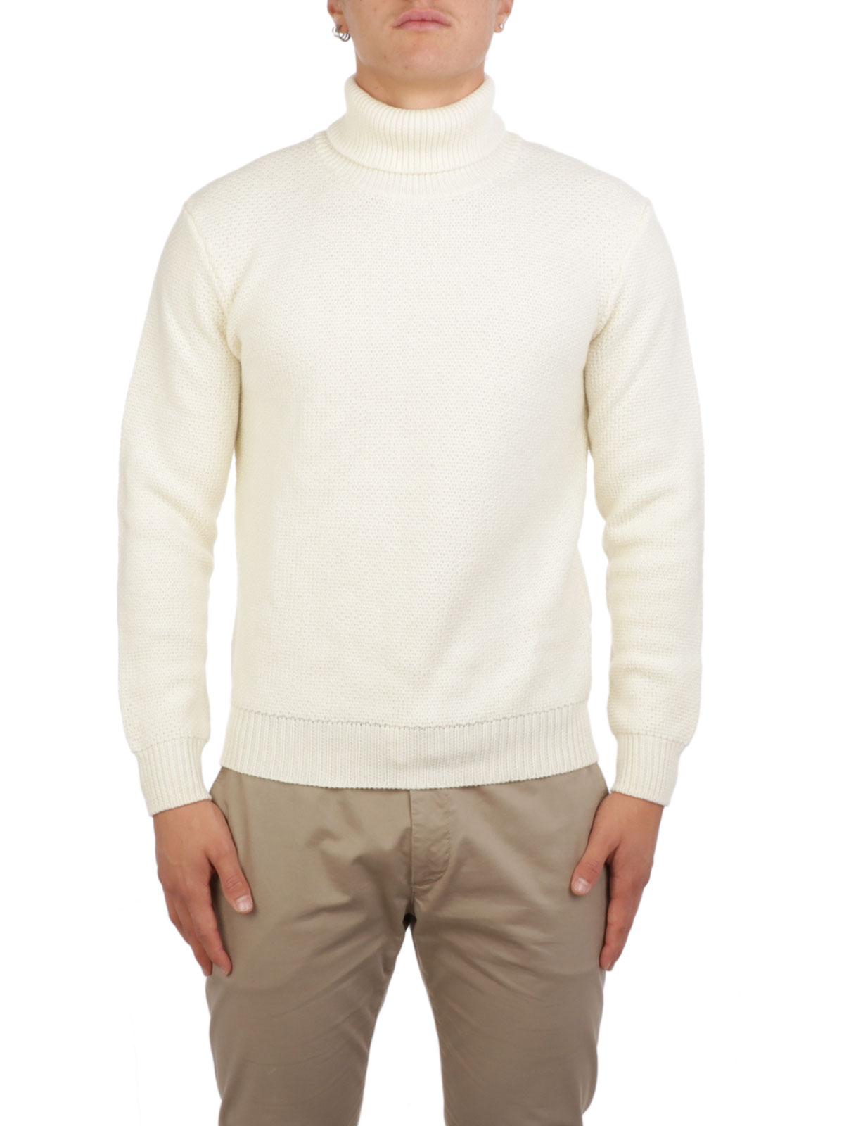 Picture of ALTEA | Men's Honeycomb Turtleneck Sweater