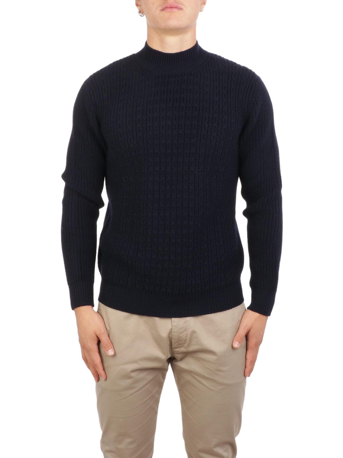 Picture of ALTEA | Men's Wool Cable Turtleneck
