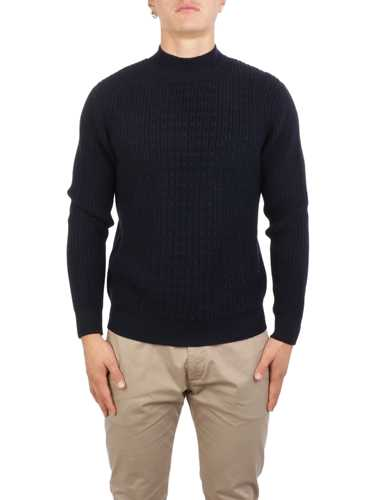 Picture of ALTEA | Men's Wool Cable Turtleneck
