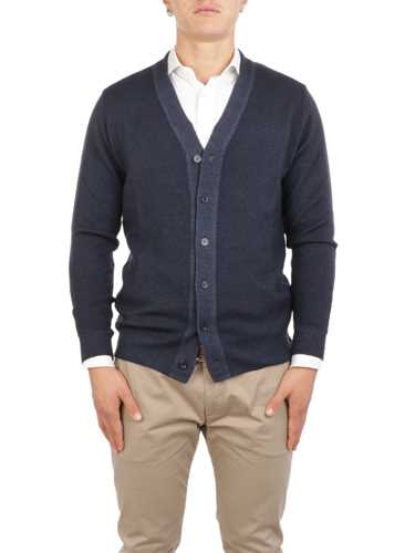 Picture of ALTEA | Men's Herringbone Wool Cardigan