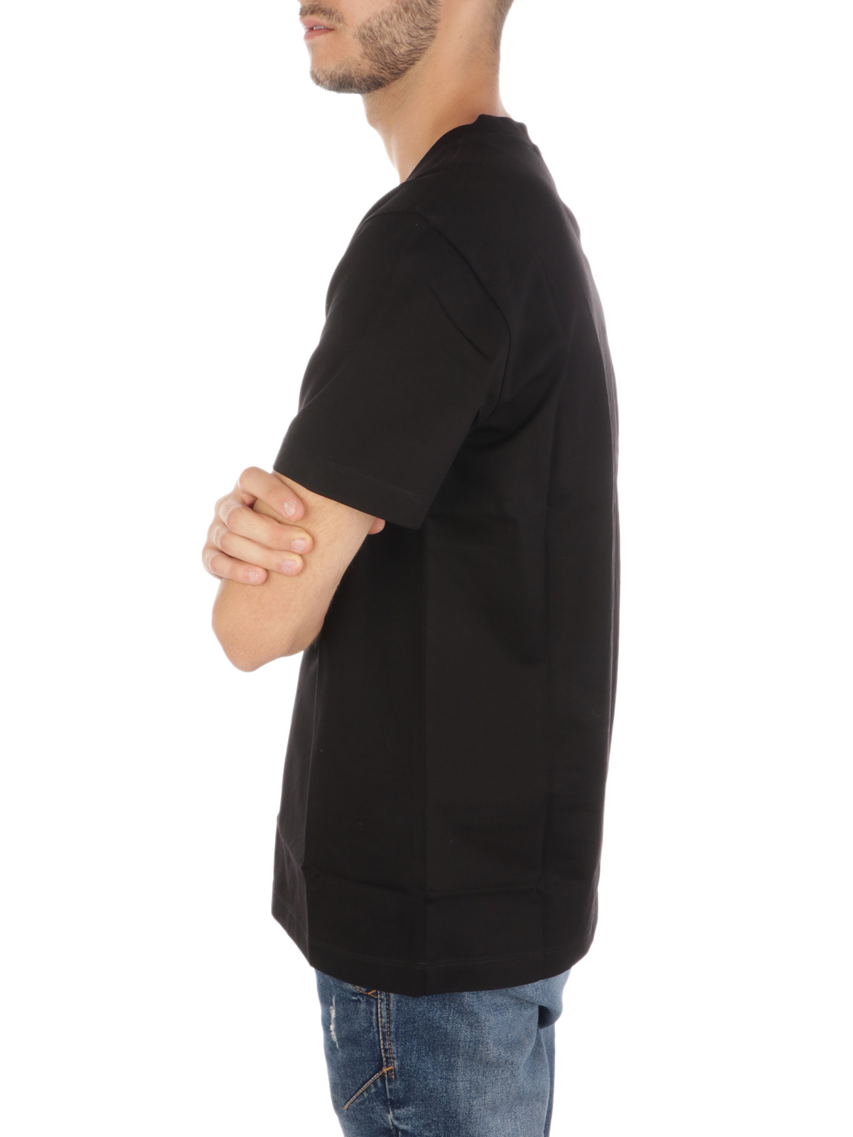 Picture of EMPORIO ARMANI   Men's Embossed Print T-Shirt