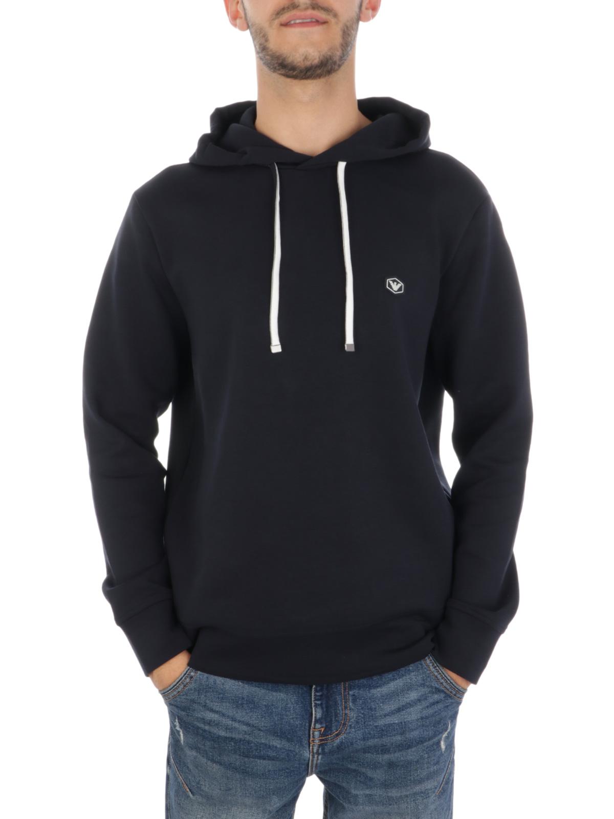Picture of EMPORIO ARMANI   Men's Stretch Hooded Sweatshirt