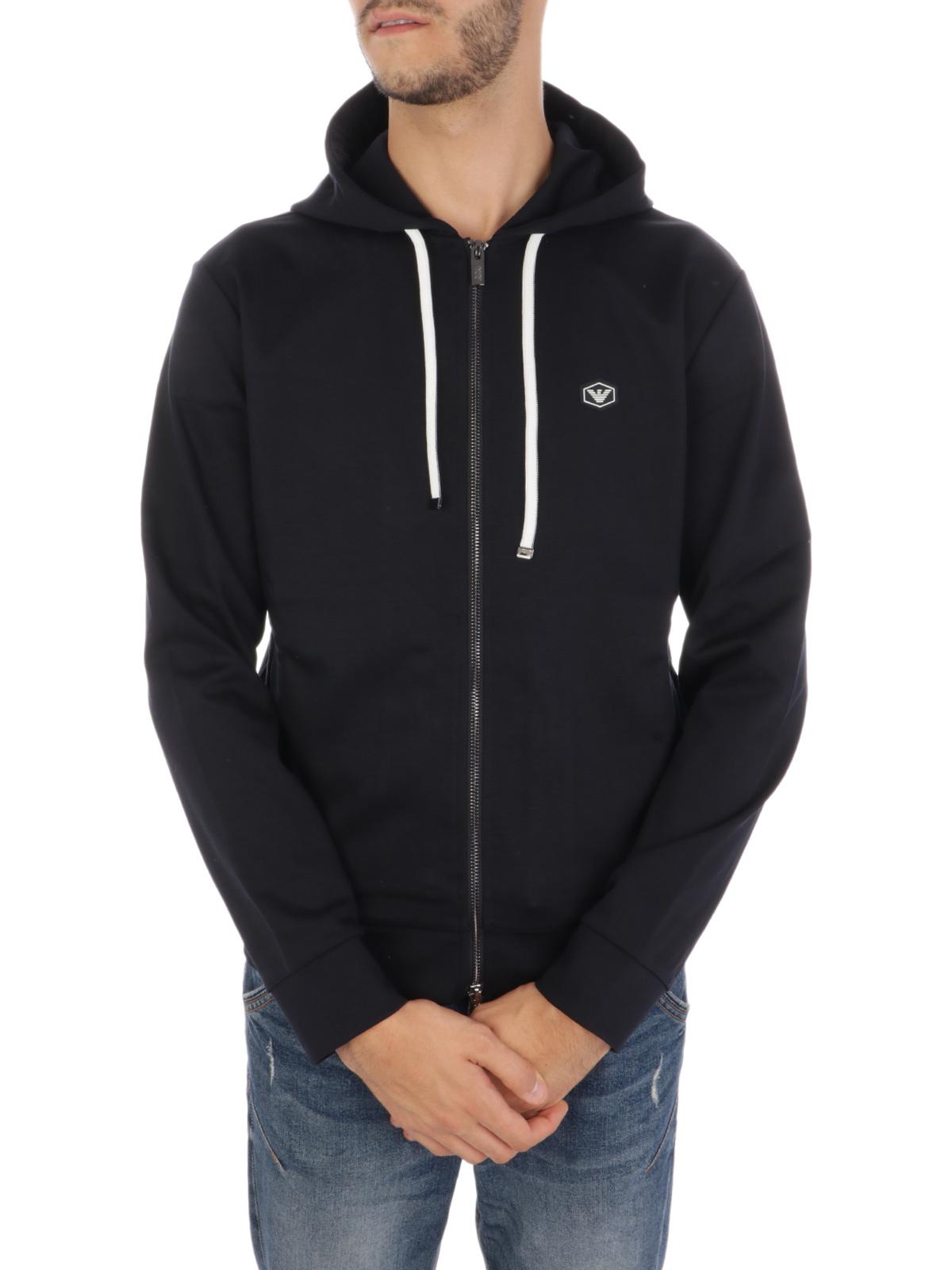Picture of EMPORIO ARMANI | Men's Cotton Hooded Sweatshirt