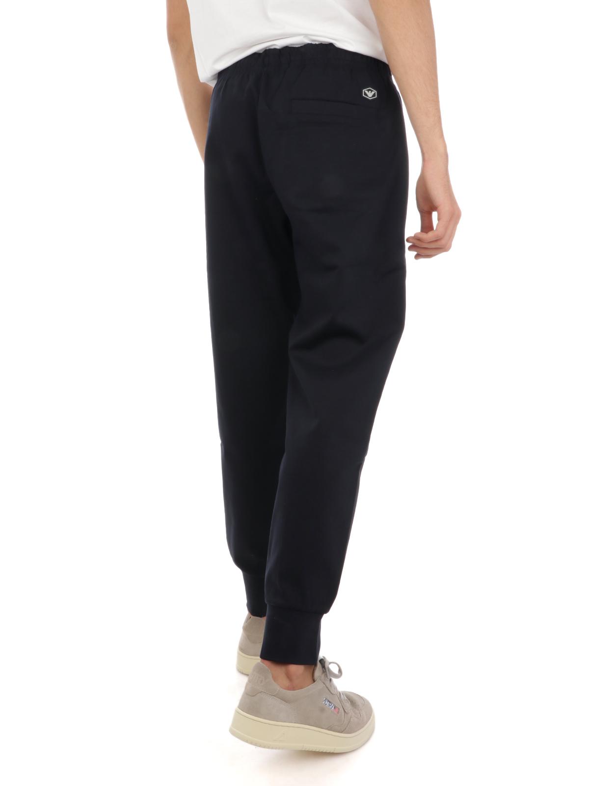 Immagine di EMPORIO ARMANI | Pantaloni Tuta Uomo in Cotone