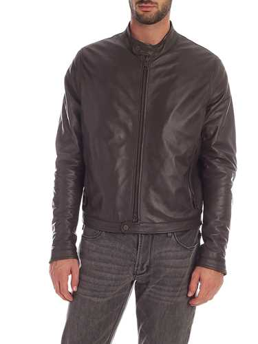 Picture of TAGLIATORE | Men's Graham Leather Jacket