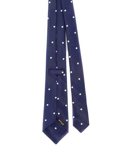 Picture of KITON | Men's Silk Dotted Tie
