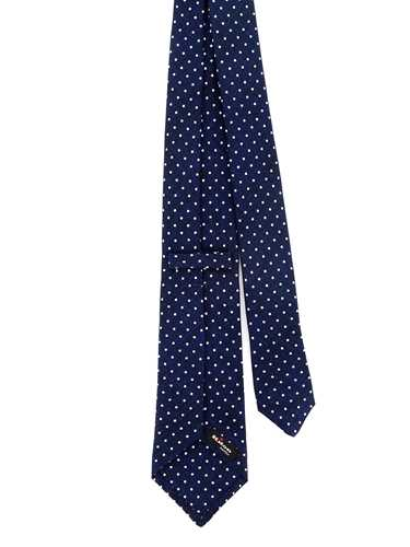 Picture of KITON | Men's Silk Micro Dotted Tie