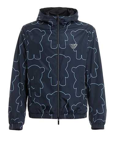 Picture of EMPORIO ARMANI | Men's Manga Bear Reversible Jacket