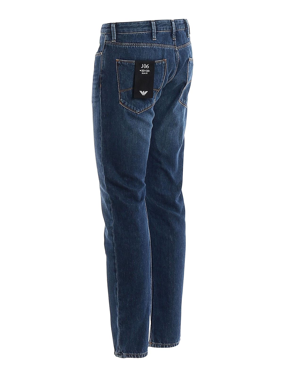 Picture of EMPORIO ARMANI | Men's 5 Pockets Jeans J06