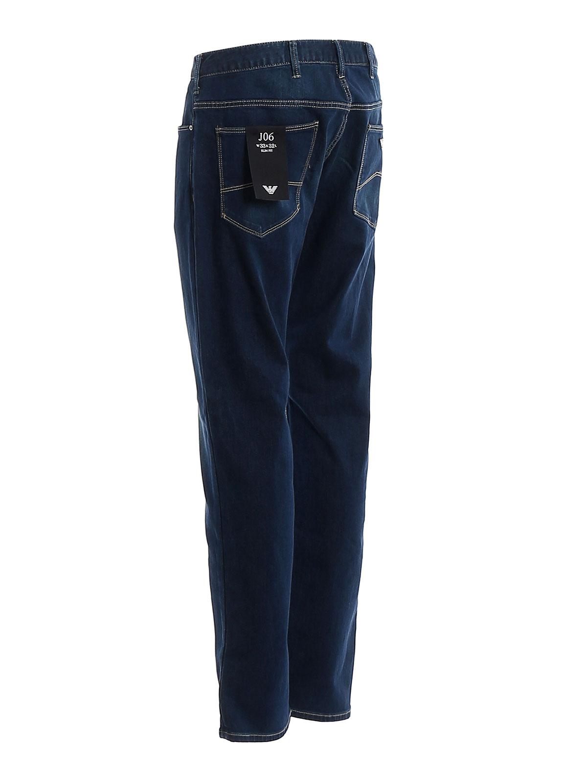 Picture of EMPORIO ARMANI | Men's 5 Pockets Stretch Jeans J06