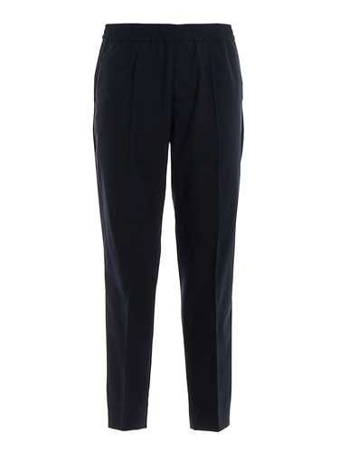 Picture of EMPORIO ARMANI | Men's Stretch Wool Trousers