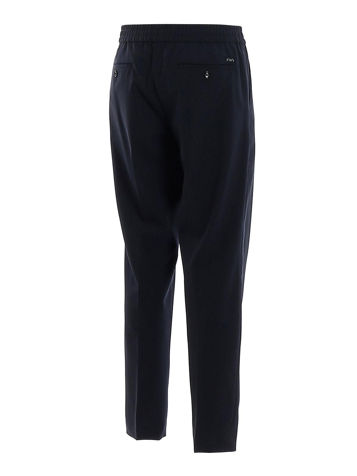 Immagine di EMPORIO ARMANI | Pantaloni Uomo in Lana Stretch