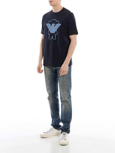 Picture of EMPORIO ARMANI | Men's Manga Bear T-Shirt