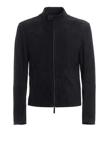 Picture of EMPORIO ARMANI | Men's Suede Jacket