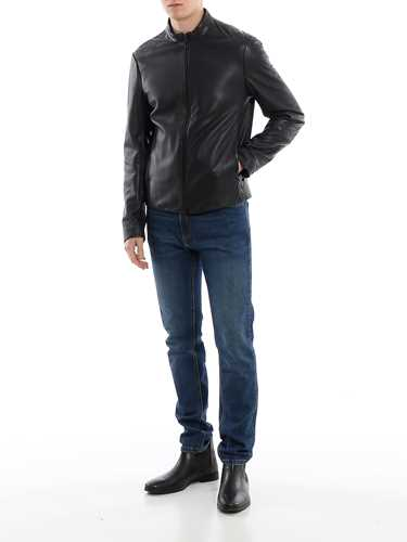 Picture of EMPORIO ARMANI | Men's Nappa Jacket