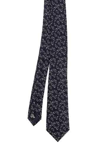 Immagine di EMPORIO ARMANI | Cravatta Uomo in Seta Mini Paisley