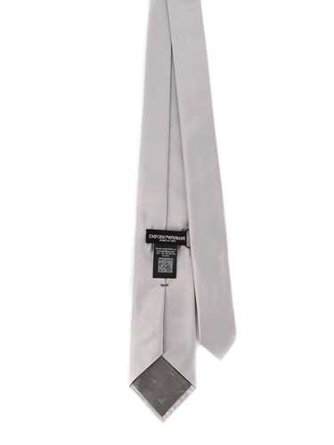 Picture of EMPORIO ARMANI | Men's Silk Satin Tie
