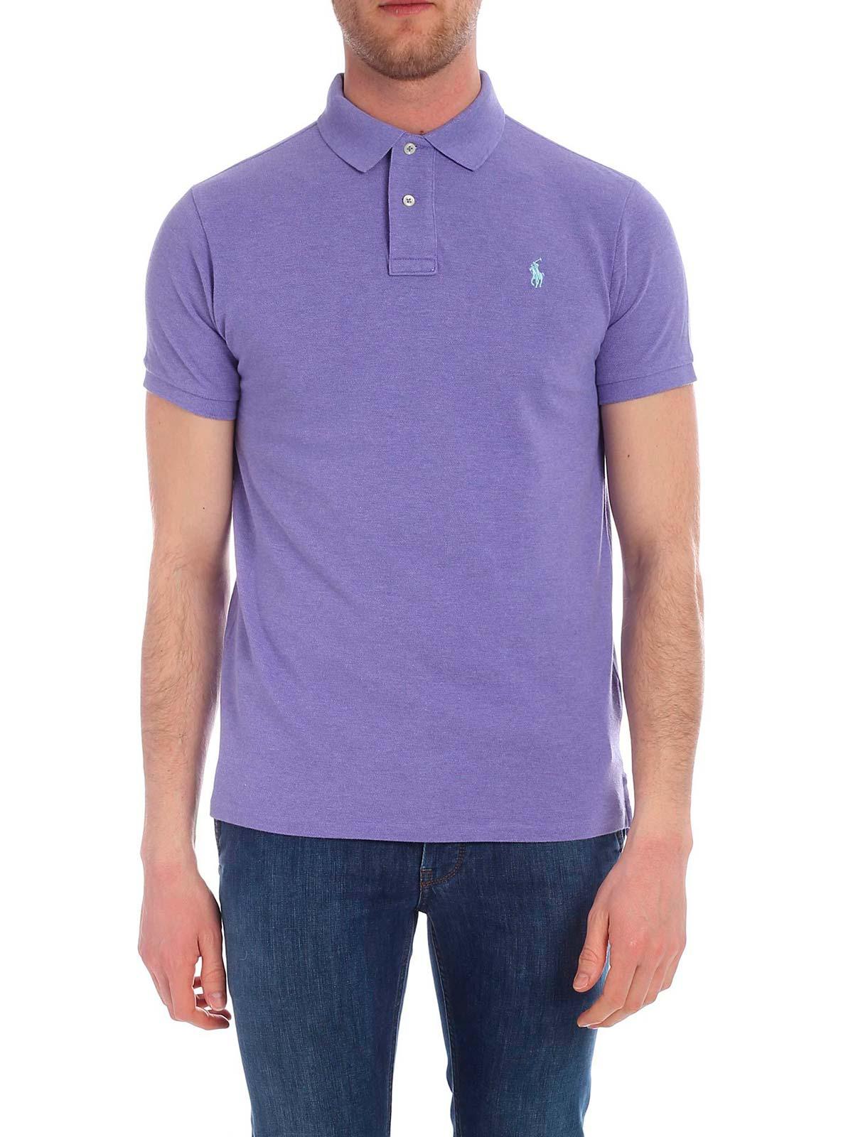 Polo Lauren Shirt Fit Slim Men's Ralph lcK1TFJ
