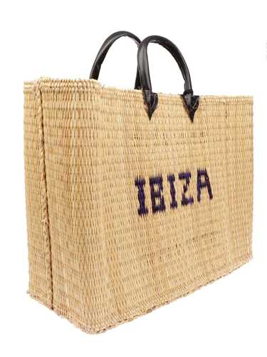 Picture of PINK MEMORIES | Women's Ibiza Straw Bag