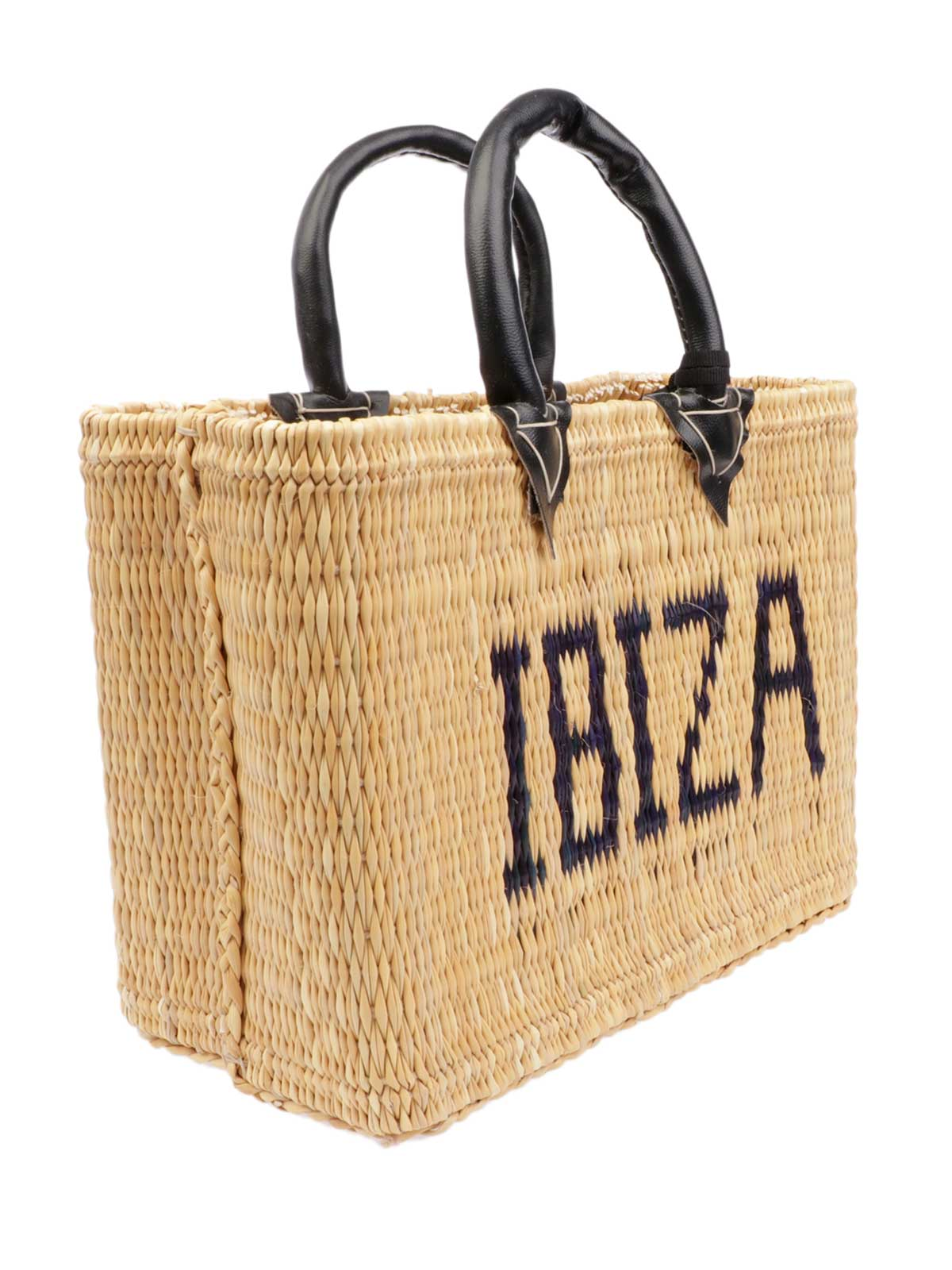 Picture of PINK MEMORIES | Women's Ibiza Mini Straw Bag