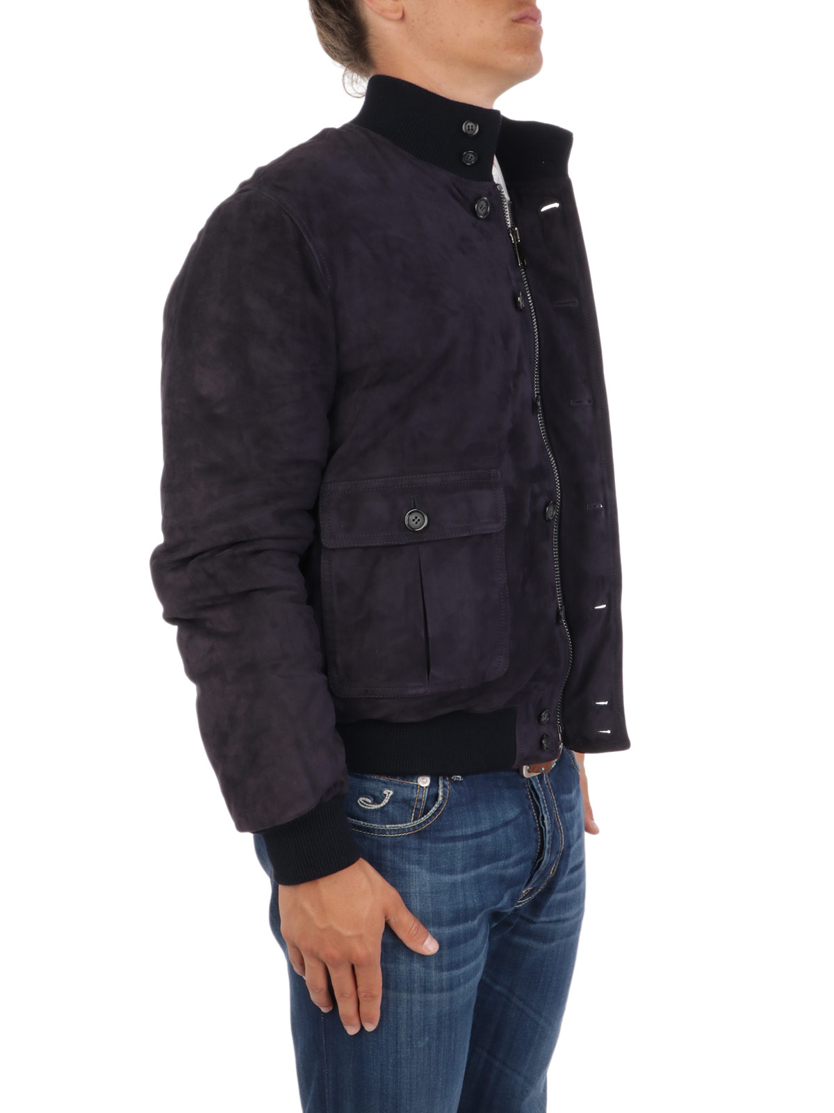 Picture of VALSTAR | Valstarino Suede Padded Jacket