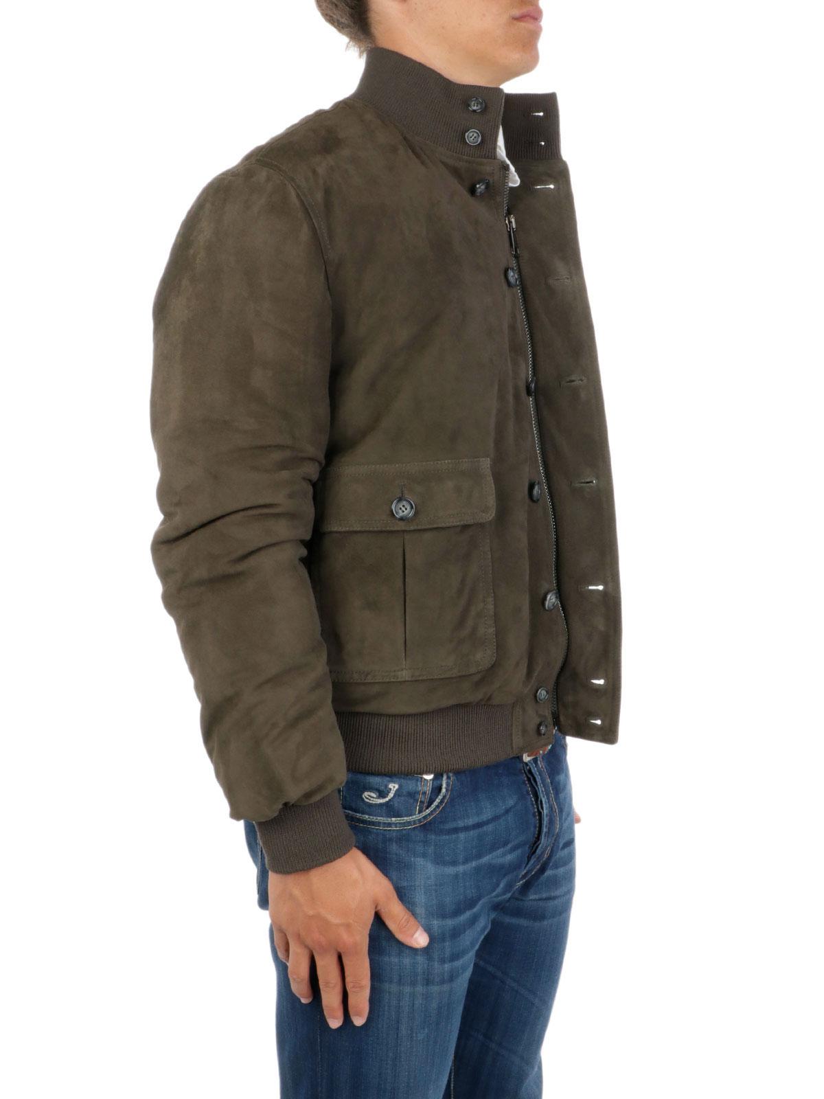 Picture of VALSTAR | Valstarino Suede Padded Jacket