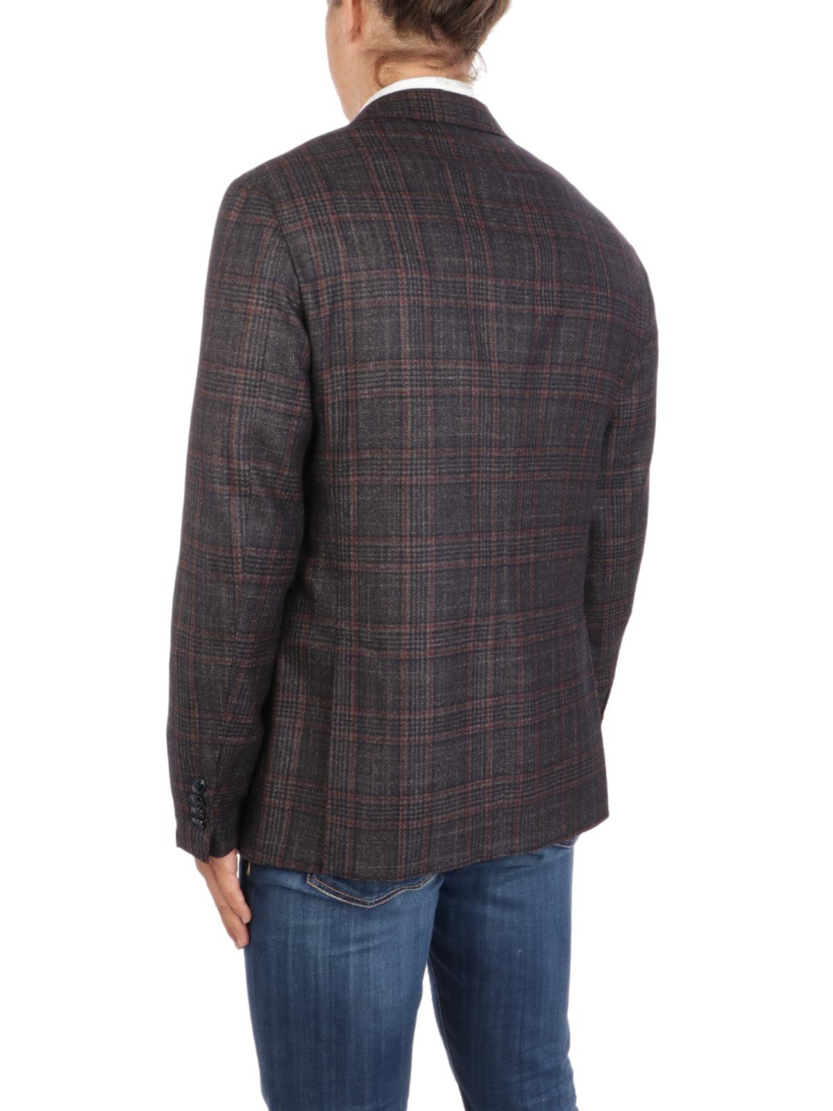 Picture of BARBA   Men's GJimmy Wool Blend Blazer