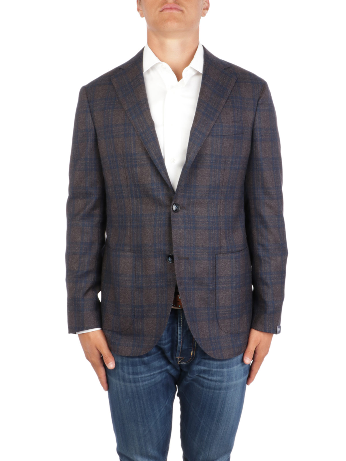 Picture of BARBA | Men's GJimmy Wool Blazer