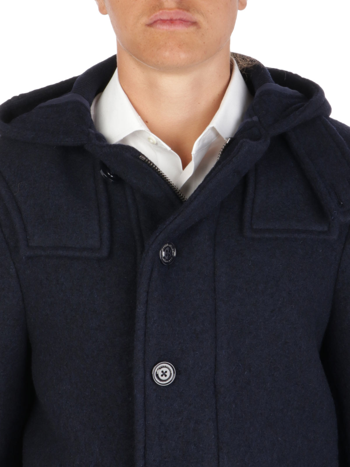 Picture of BROOKSFIELD   Men's Wool Montgomery