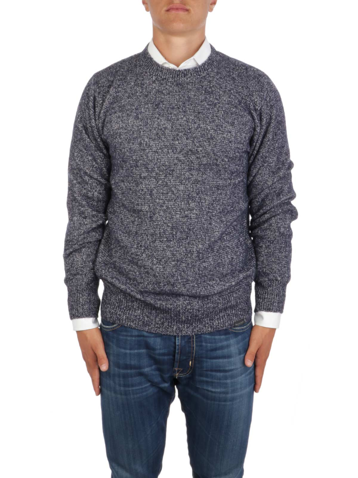 Picture of BROOKSFIELD | Men's Supergeelong Wool Crewneck