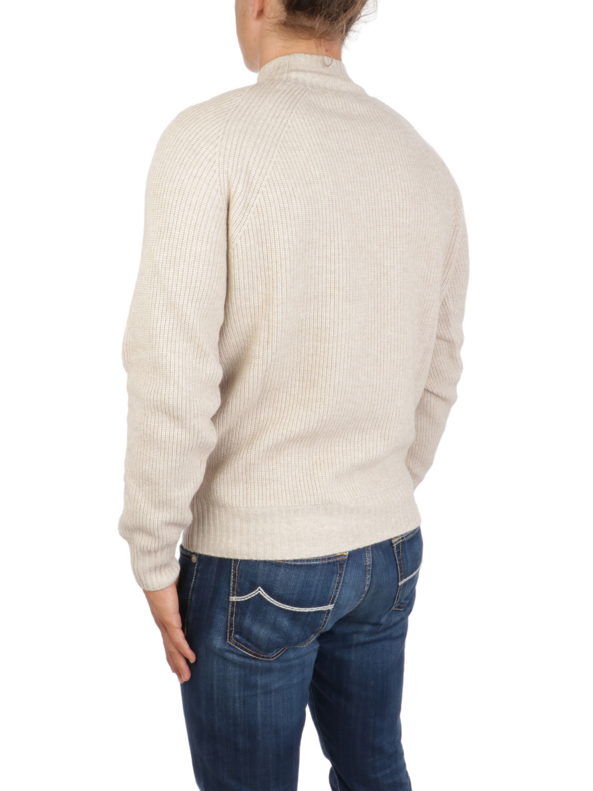 Picture of BROOKSFIELD   Men's Ribbed Mock Neck Sweater