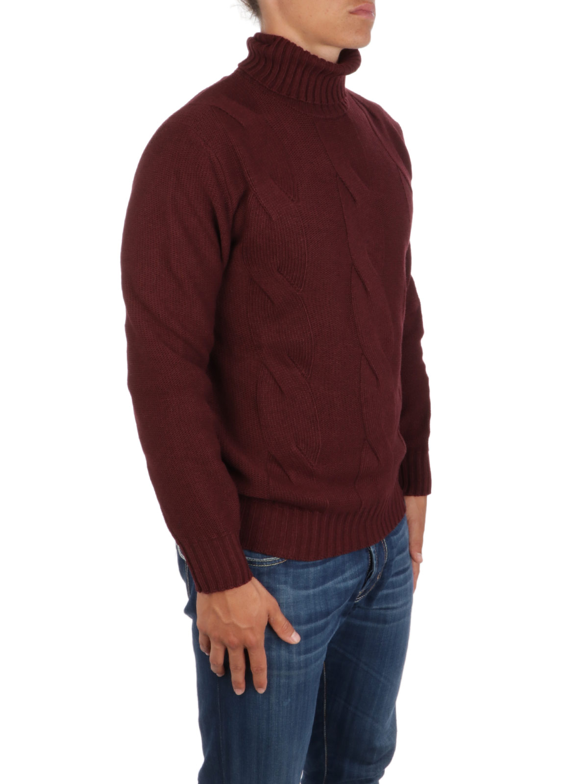 Picture of BROOKSFIELD | Men's Cable Turtleneck Sweater