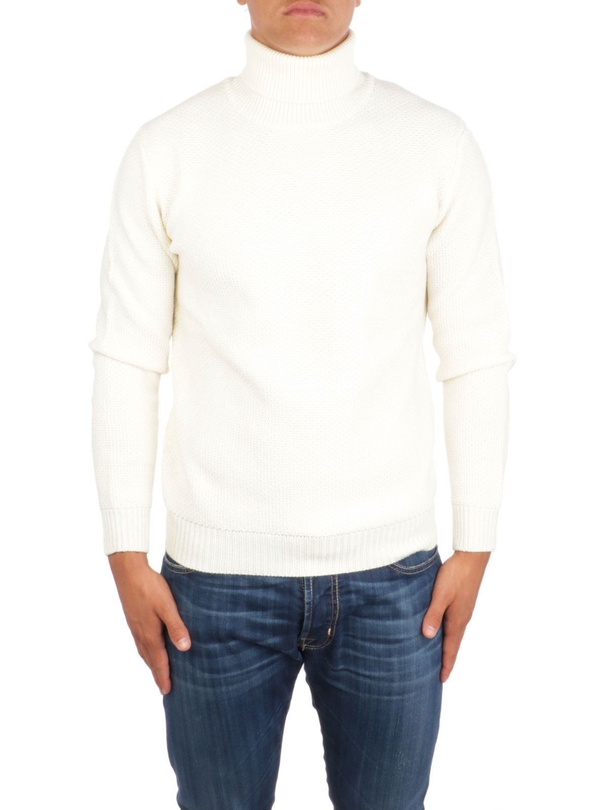 Picture of ALTEA | Men's Wool Knitted Turtleneck Sweater