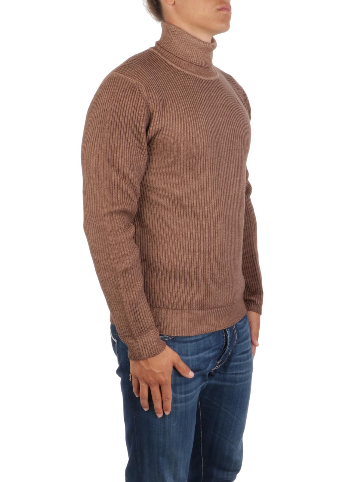 Picture of ALTEA | Men's Wool Ribbed Turtleneck Sweater