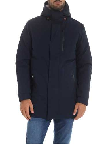 Picture of SAVE THE DUCK | Men's Parka with Eco Fur D4344M