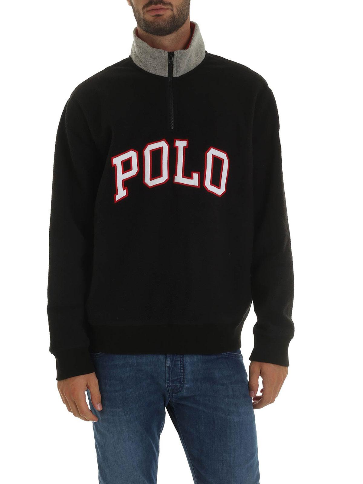 Picture of POLO RALPH LAUREN   Men's Fleece Sweatshirt Lettering