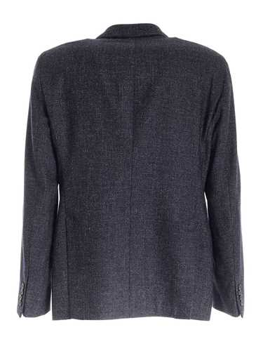 Picture of EMPORIO ARMANI | Men's Wool and Linen Blazer