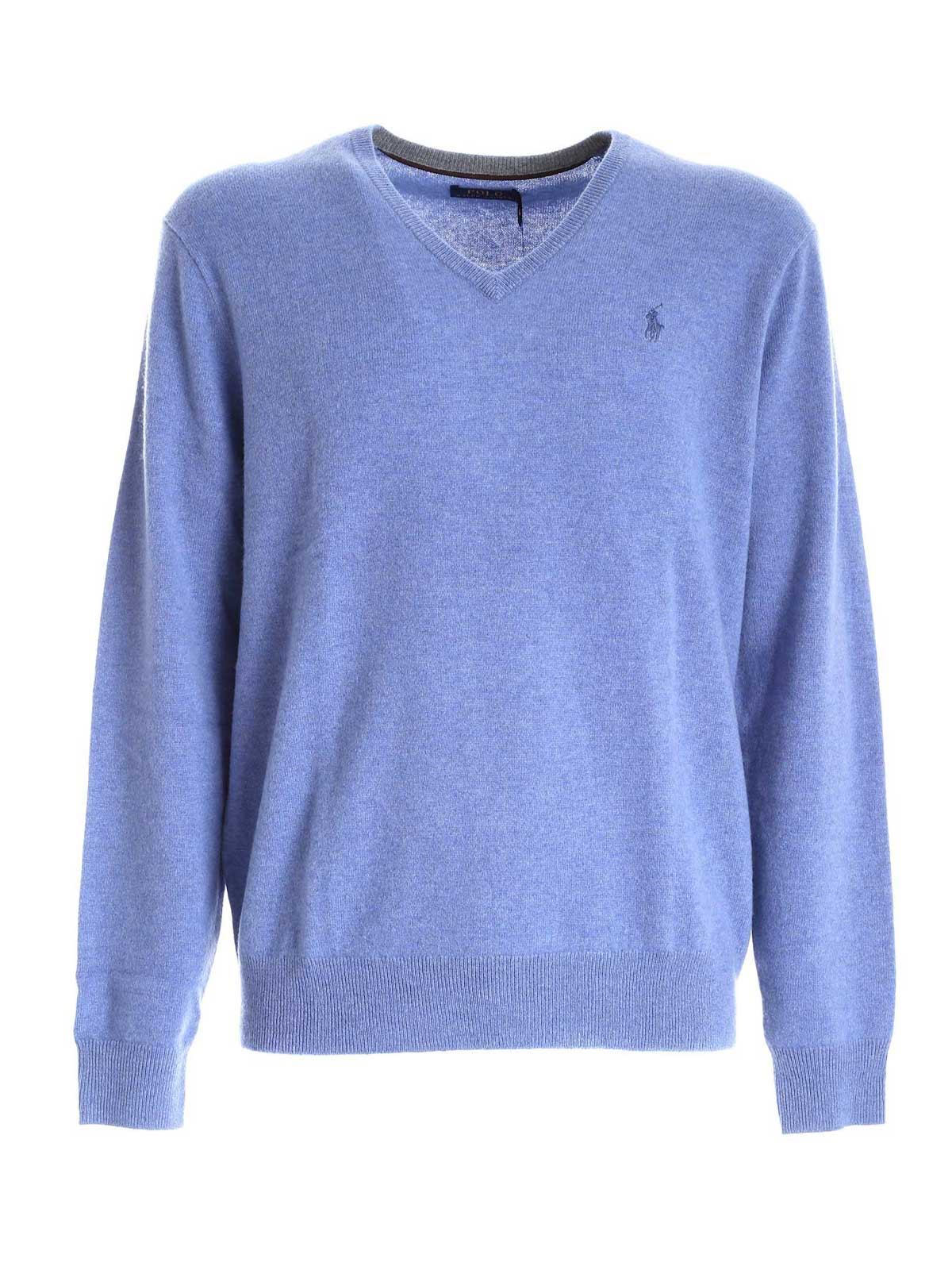 Picture of POLO RALPH LAUREN | Men's Merino V-Neck Sweater